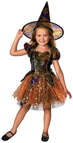 Girls Elegant Witch Costumes (Elegant Witch Child Costume - Medium)