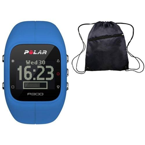 Polar A300 Indigo Blue Fitness and Activity Monitor with HR and Travel Bag by Polar