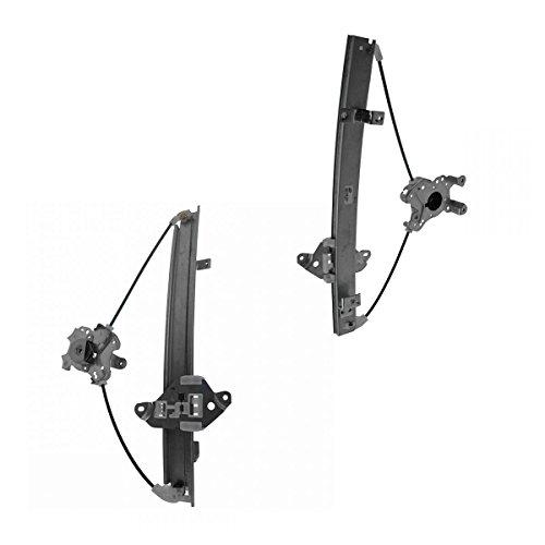 Power Window Regulator Rear Left & Right Pair Set for 02-07 Mitsubishi - Regulator Window Set Rear