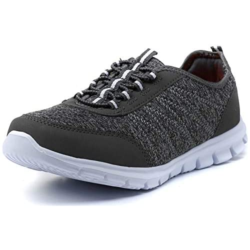 PresaNew Womens Lightweight Walking Shoes Tennis Athletic Comfortable Workout Sneakers