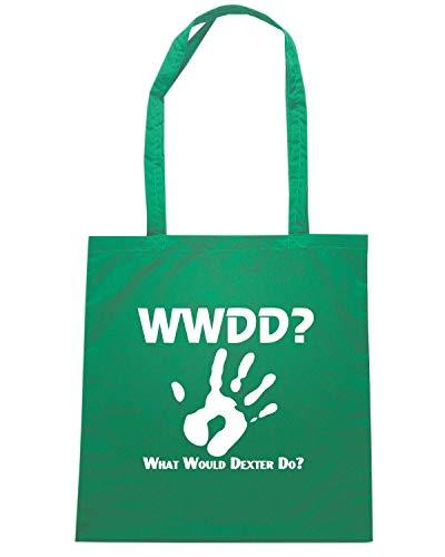 Verde WWDD Borsa FUN1196 Shopper DEXTER 5xPvZ6Tq