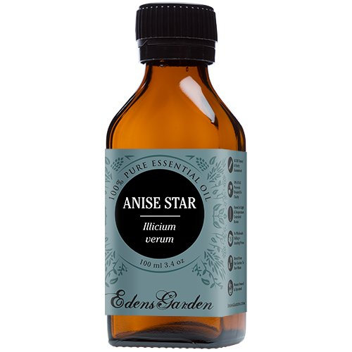 Anise Star 100% Pure Therapeutic Grade Essential Oil by Edens Garden- 100 ml