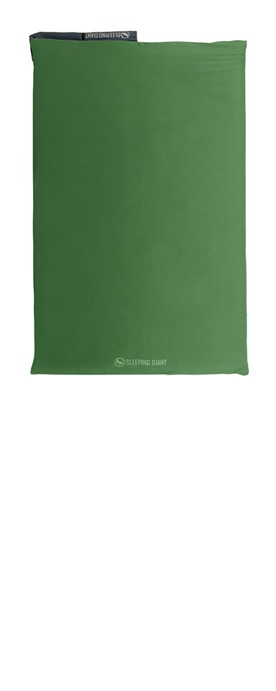 Big Agnes Sleeping Giant Memory Foam Pad Cover, Green/Blue, 40x72 Double Wide by Big Agnes