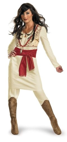 [Prince of Persia Tamina Adult Costume - Medium] (Prince Of Persia Tamina Costumes)