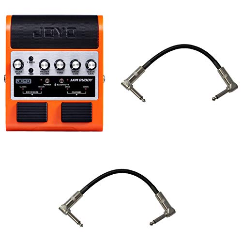 Joyo Jam Buddy Bluetooth Guitar Effects Pedal/Practice Amp Bundle w/Cables
