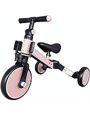 Jollito 3-in-1 Kids Tricycle Pushbike Balance Bike Multifunctional