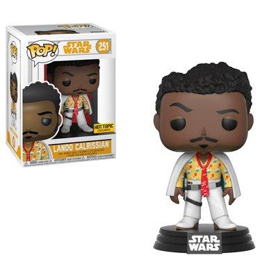 Funko Pop Star Wars #251 Lando Calrissian Solo Movie Hot Topic Exclusive