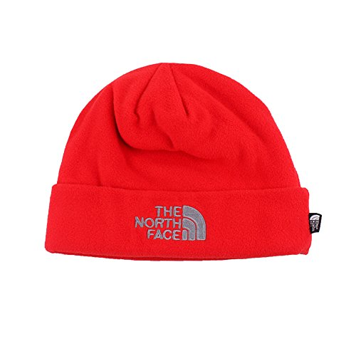 The North Face Red Fleece (The North Face Double Layers Winter Thicken Polar Fleece Thermal Beanie Hat (Red, One Size))