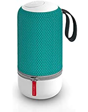 Libratone Zipp Mini Wifi Bluetooth Smart Speaker, 360° Loud Stereo Sound with Dual Mic Build-in, Deep Bass, 12 Hour Playtime, Airplay2 and Spotify connect, Work with Alexa(Deep Lagoon)