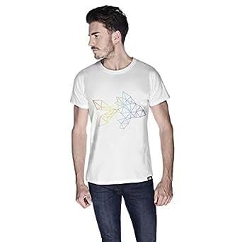 Creo Fish Animal T-Shirt For Men - M, White