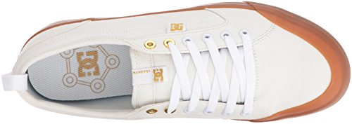 Dc Evan Smith Tx Skate Chaussure Hors Blanc / Gomme
