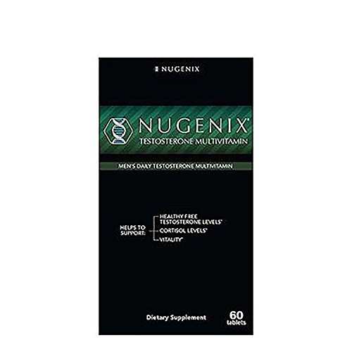 Nugenix Testosterone Multivitamin, Promotes Vitality, Cortisol Levels Healthy Free Testosterone