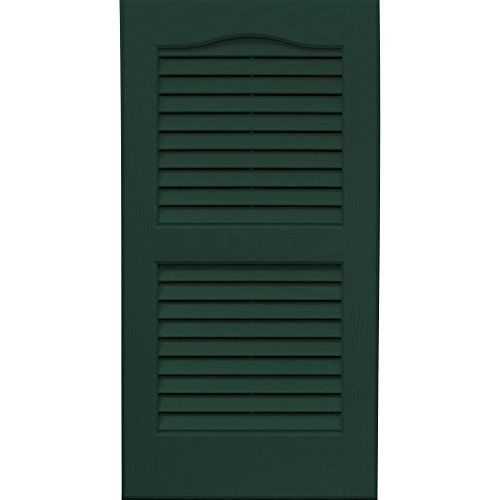 Vantage 0114027991 14x27 louver arch shutter pair 991 for 14x27 window