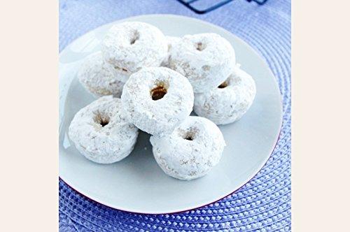Gluten Free Mini Powdered Donuts Mix with Raspberry Filling