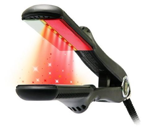 CROC Turboion Infrared Digital Ceramic Flat Hair Iron Straightener