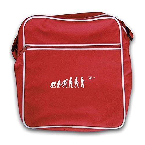 Remote Bag Retro Red Control Helicopter Flight Evolution Dressdown Man Of TwtqRq6B