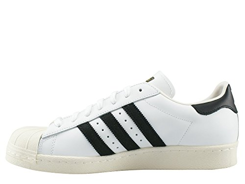 Pour crak core White 80s Baskets Homme Adidas Black White g61070 Superstar 8CnHtt