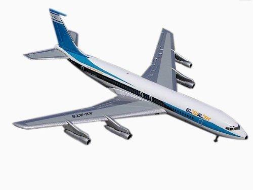 genuina alta calidad Gemini Jets EL EL EL AL B707-320B C 1 400 Scale by GeminiJets  salida de fábrica