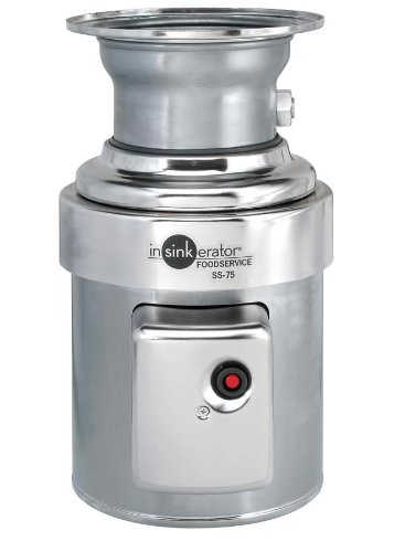 Insinkerator SS-75-27 Standard Capacity Commercial Waste Disposer by InSinkErator