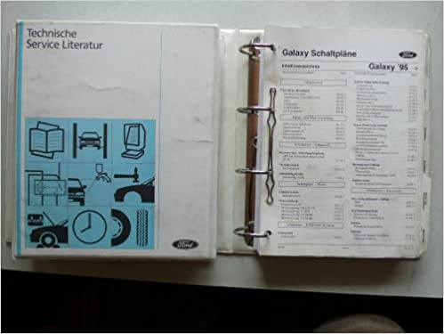 Ford Galaxy Original Ford Technische Service Literatur - Schaltpläne ...