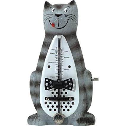Wittner 839021 Animales Gato resaca Metrónomo – Metrónomo mecánico