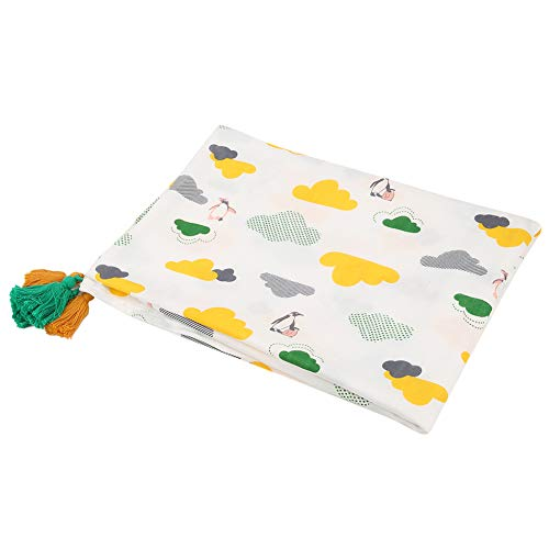 Baby Bath Towel, Baby Blanket, Cotton Material Washcloth, Infant Shower Towel, Breathable Soft Touch Durable Baby for Newborn(Cloud Penguin, 110158cm)