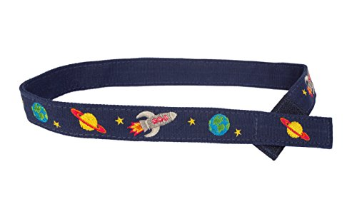 Myself Belts- Easy to Fasten Belt for Little Boys ~ Outer Space