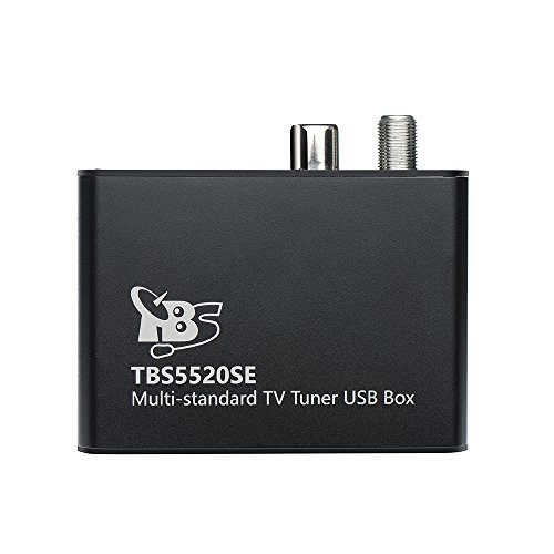 TBS 5520SE DVB-S2X/ S2/ S/ T2/ T/ C2/ C/ ISDB-T Digital TV Tuner USB Box for Live TV/ Window/ Linux/ HTPC/ IPTV Server by TBS