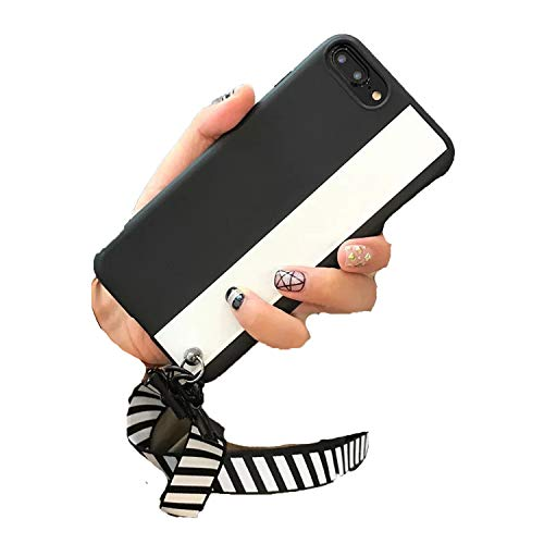 Fashion iPhone 6 6s 7 8 Plus 7P 8P X softs with Shell Straps,Black White,Australia,for 6Plus 6Splus