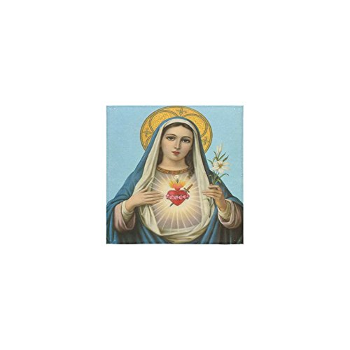 Christmas/Thanksgiving Day Towels Virgin Mary Catholic Religious Gift Thin Soft Towel(One Side)(13x13inches) by Virgin Marry Towel