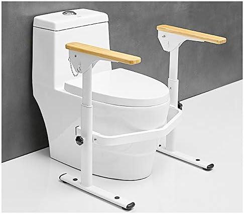 トイレの安全フレーム、安全ハンディキャップ調整可能な手すり、高齢者の肥満のためのバスルームの安全レール