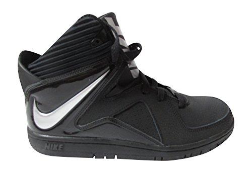 Nike Court INVADER (GS) Zapatillas Hi Top 677807 Zapatillas Negro plata metálico 001
