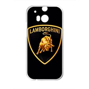 Happy Lamborghini sign fashion cell phone case for HTC One M8