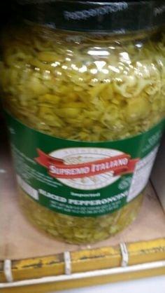 Supremo Italiano Sliced Pepperoncini 1 Gal (2 Pack) by Supremo Italiano