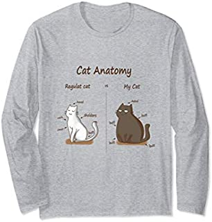 For Lover Cat Long Sleeve T-shirt | Size S - 5XL