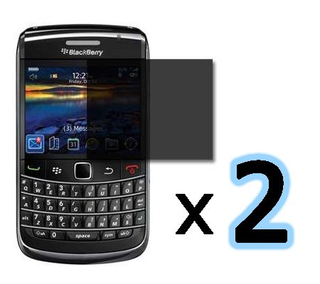 - ***BUY ONE GET ONE FREE*** Privacy Screen Protector for Blackberry Bold 9700, Onyx 9700, 9020, 9780