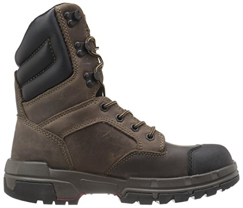 Waterproof Legend Wolverine Work 8 Shoe Inch Dark Comp Toe Men's Brown wpxq4Pf6