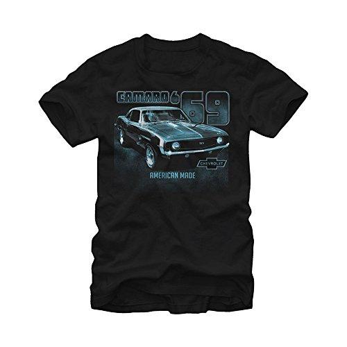 General Motors Chevy Camaro American Mens Graphic T (Camaro Graphic Tee)