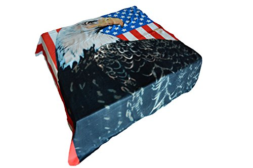 """Comfy Polar Fleece Throw Blanket 60"""" X 70"""" - Bigger, Better, Softer - One Week Clearance Sale On Now! (American Eagle)"""