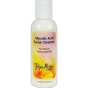 Reviva Glycolic Acid Cleanser Cream, 4 oz.