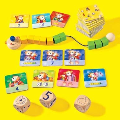 Haba Bear - HABA Clever Bear Learns to Count Game