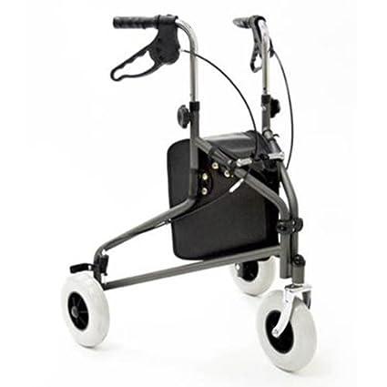 Tres con ruedas andador con bolso Healthcare: Amazon.es ...