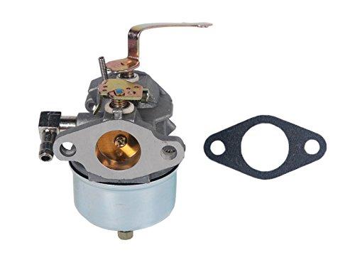 HIFROM Carburetor Carb with Gasket Replace for Tecumseh 631918 HS40 4HP HS50 5HP Engine Lawn Mower (5hp Carburetor Tecumseh)