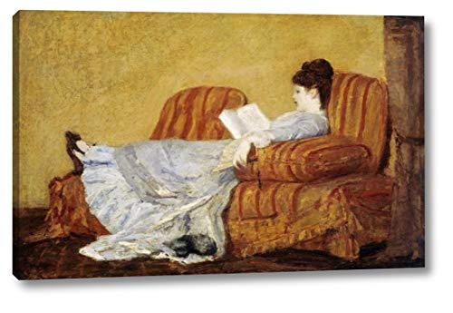 - Young Lady Reading by Mary Cassatt - 12