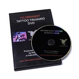 Hildbrandt Tattoo Training DVD Learning How to Tattoo