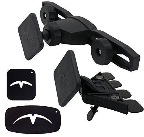 《마운텟쿠》 Mountek Snap+&REACH세트 마그넷식《스마트폰 장갑 터치 장갑》차량 탑재 홀더