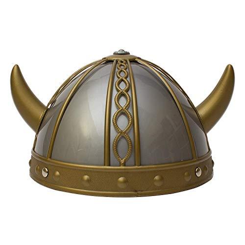 Fun Central AT999 1ct Viking Helmet, Costume Viking Helmet, Kids Viking Helmet, Viking Cotume Helmet, Viking Helmet Costume for Kids