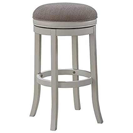 Wondrous Amazon Com Bowery Hill 30 Backless Bar Stool In Distressed Pdpeps Interior Chair Design Pdpepsorg