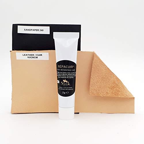 SOFOLK Repair kit for cracks in leather, sofa, car seats etc.: Amazon.co.uk: Kitchen & Home