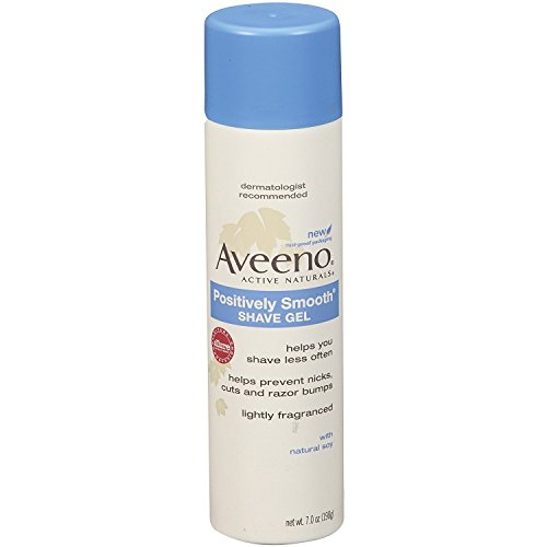 Aveeno Skin Relief Shave Gel SiOpta, 30 Bottles of 7oz by Aveeno